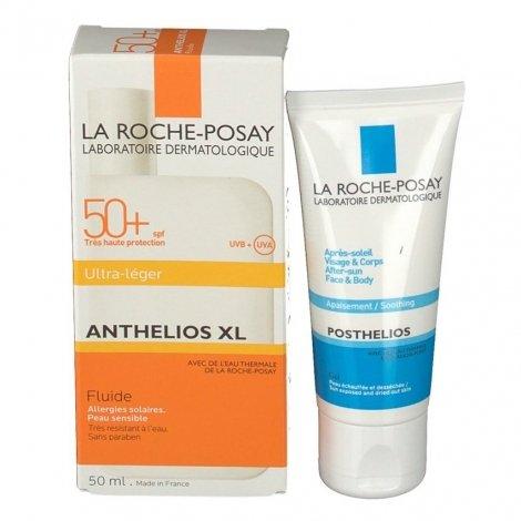 La Roche Posay Anthelios XL SPF50+ 50ml + Cadeau Après-Soleil Posthelios 40ml pas cher, discount
