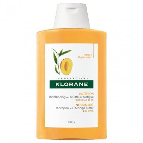 Klorane Shampooing au beurre de Mangue 200ml pas cher, discount