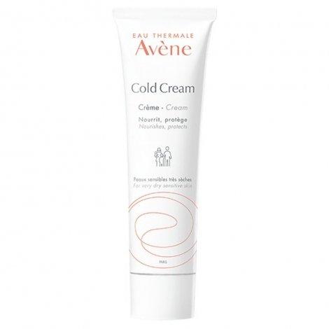Avène Cold Cream Crème tube Nouvelle formule 100ml pas cher, discount