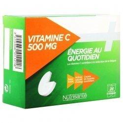Nutrisante Vitamine C 500 mg Energie au Quotidien 24 Comprimés à Croquer