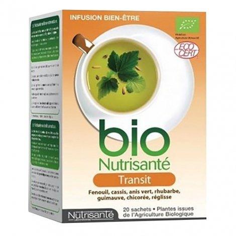 Nutrisante Infusion bio transit 20 sachets pas cher, discount