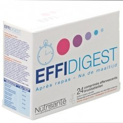 Effidigest 24 comprimés effervescents