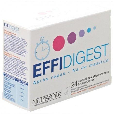 Effidigest 24 comprimés effervescents pas cher, discount
