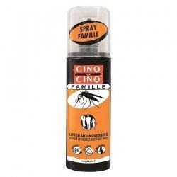 Cinq /Cinq Spray Famille Anti Moustiques 100ml