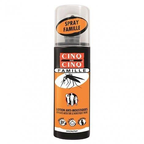 Cinq /Cinq Spray Famille Anti Moustiques 100ml pas cher, discount