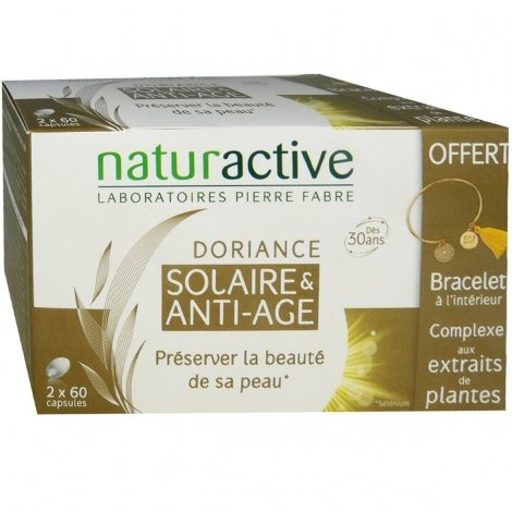 Naturactive Doriance Solaire & Anti-Age 2x60 capsules pas cher, discount