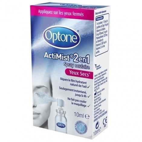 Optone ActiMist Spray Yeux Secs 10 ml pas cher, discount