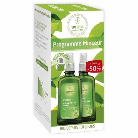 Weleda Programme Minceur: Bouleau Huile de Massage Minceur 2x100ml OFFRE SPECIALE pas cher, discount