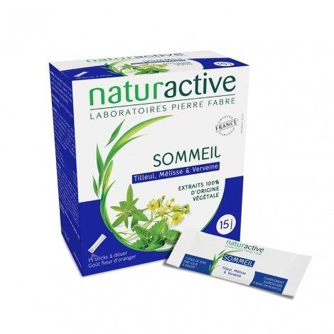 Naturactive Sommeil Goût Fleur d'Oranger 15 sticks pas cher, discount