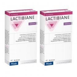 Pileje LOT de 2x Lactibiane Tolerance 30 Gelules