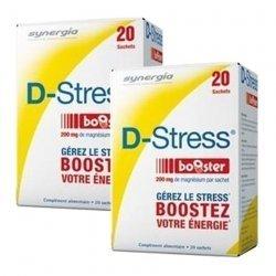 Synergia LOT de 2x D Stress Booster Anti stress Concentré x20 Sachets
