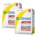 Synergia LOT de 2x D Stress Booster Anti stress Concentré x20 Sachets