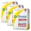 Synergia LOT de 3x D Stress Booster Anti stress Concentré x20 Sachets