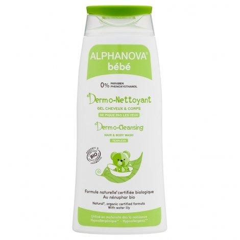 Alphanova Bébé Dermo Nettoyant Bio 200ml pas cher, discount
