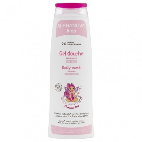 Alphanova Kids Gel Douche Princesse Bio 250ml pas cher, discount
