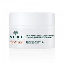 Nuxe Rêve De Miel Crème de Nuit Visage Ultra-Réconfortante 50 ml