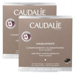 Caudalie LOT de 2 Vinexpert Compléments Alimentaires Hydratation - Anti-Oxydant (2x30 Capsules)