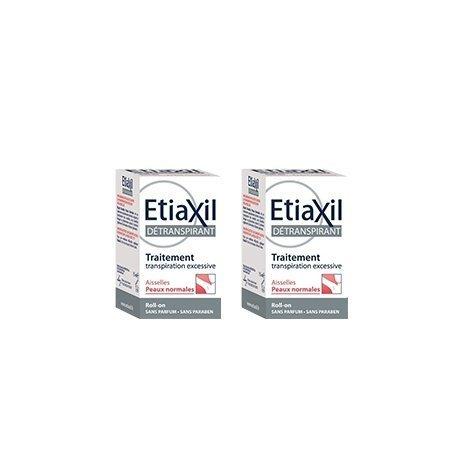 Etiaxil LOT de 2 Déodorants Bille Aisselle Peau Normale 15 ml pas cher, discount