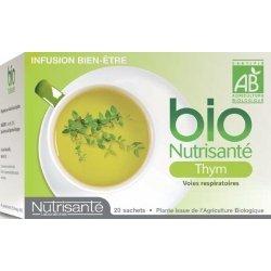 Nutrisante Infusion bio : Thym x20 sachets