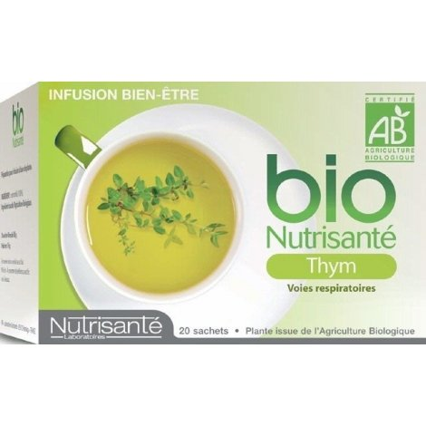 Nutrisante Infusion bio : Thym x20 sachets pas cher, discount