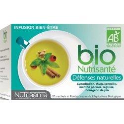 Nutrisante Infusion bio : Défenses Naturelles x20 sachets