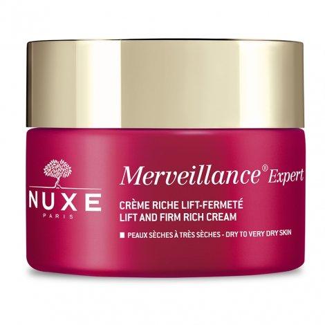 Nuxe Merveillance Expert Crème Riche Lift Fermeté Peaux Sèches 50ml pas cher, discount