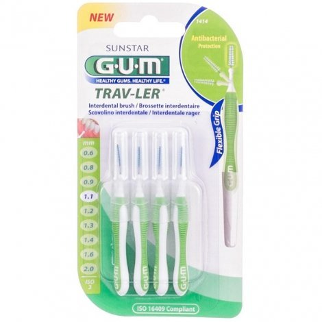 Gum Brossettes Interdentaires N°1414 pas cher, discount