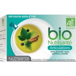 Nutrisante Infusion bio : Articulations x20 sachets