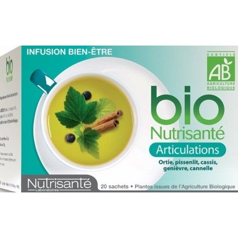 Nutrisante Infusion bio : Articulations x20 sachets pas cher, discount