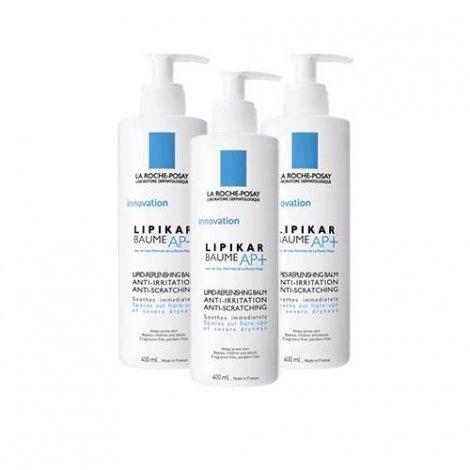 La Roche-Posay Lipikar LOT de 3 Baume AP+ 400 ml pas cher, discount