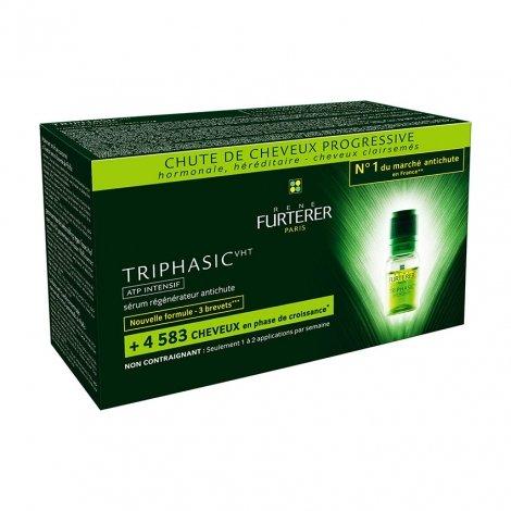 Furterer Triphasic VHT ATP Traitement Intensif Sérum Régénerateur Antichute 8x5.5 ml pas cher, discount