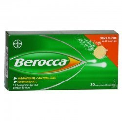 Berocca Fatigue Passagère-Irritabilité 30 Comprimés Effervescents
