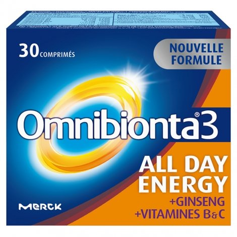 Omnibionta 3 All Day Energy 30 comp Nouvelle Formule pas cher, discount