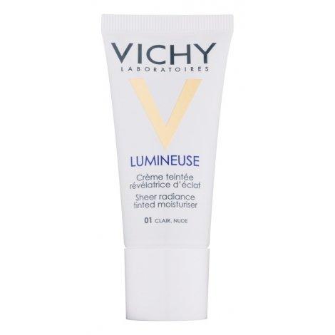 Vichy Lumineuse Crème Teintée Peau sèche clair 01 30ml pas cher, discount
