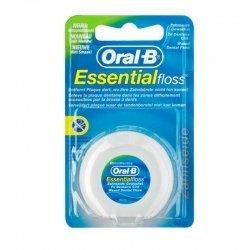 Oral-B Essential Floss Fil Dentaire Ciré Goût Menthe 50m