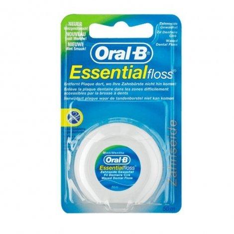 Oral-b Fil dentaire essential floss 50m Goût menthe pas cher, discount