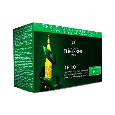Furterer Rf 80 Traitement Antichute Concentré X 12 Ampoules 5 ml pas cher, discount