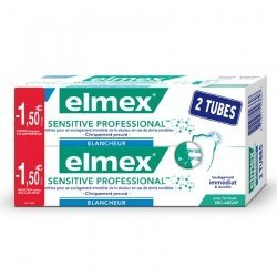 Elmex Sensitive Professional Blancheur Dentifrice 2x75ml