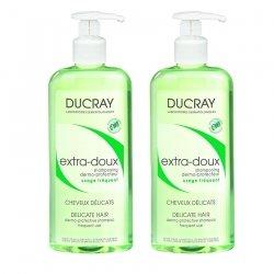 Ducray Duopack Extra Doux Shampoing Flacon 400mlx2