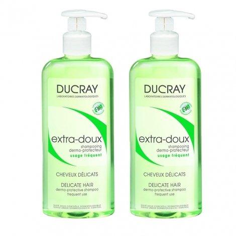 Ducray Duopack Extra Doux Shampoing Flacon 400mlx2 pas cher, discount