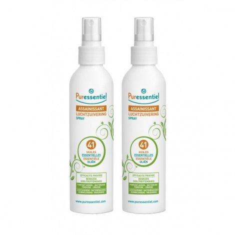 Puressentiel LOT de 2 Sprays Assainissants aux 41 Huiles Essentielles 2x200 ml pas cher, discount