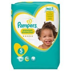 Pampers New Baby T5 11-16kg 20 unités