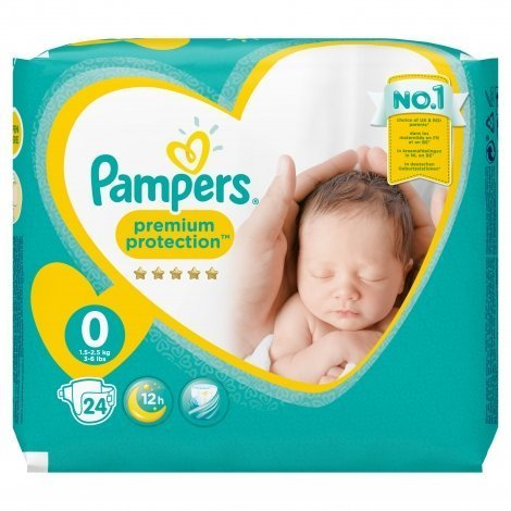 Pampers New baby micro couches dry premature 24 pas cher, discount