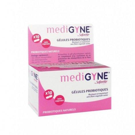 Medigyne Saforelle Gelules Probiotiques x10 Gélules Vaginales pas cher, discount