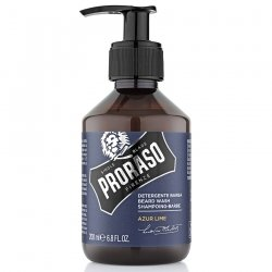 Proraso Shampoing Barbe Azur and Lime 200ml