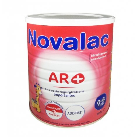 Novalac AR+ 0 - 6 mois 800g pas cher, discount