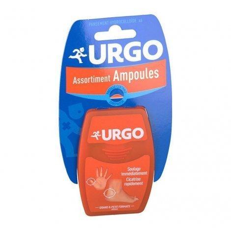 Urgo Assortiment Ampoules Pansement Hydrocolloïde Grand & Petit Formats x6 pas cher, discount