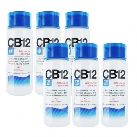 CB12 Mauvaise Haleine 12h Regular LOT de 6x250ml pas cher, discount