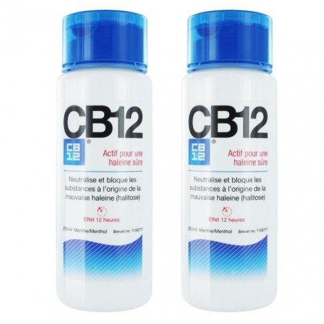 CB12 Mauvaise Haleine 12h Regular LOT de 2x250ml pas cher, discount