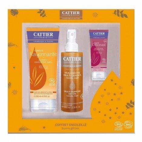 Cattier Coffret Ensoleillé - 3 produits pas cher, discount